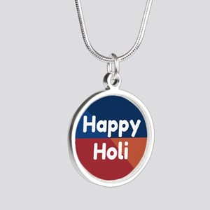 Colorful Happy Holi Necklaces