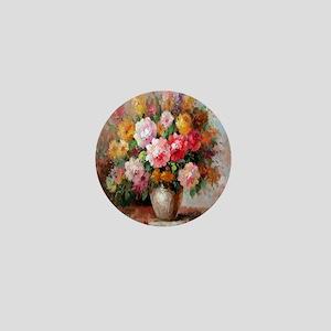 flower013 Mini Button