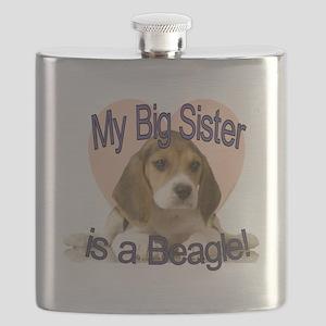 beagle sis Flask