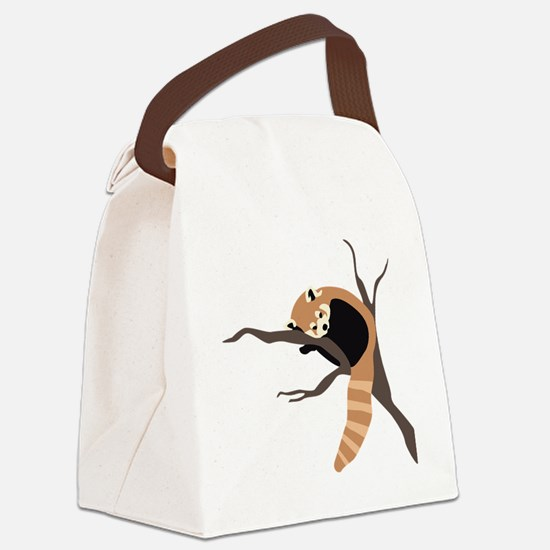 RedPanda Canvas Lunch Bag