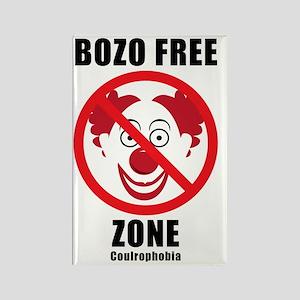 Bozo Free Rectangle Magnet