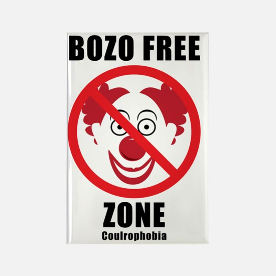 Bozo Free Rectangle Magnet