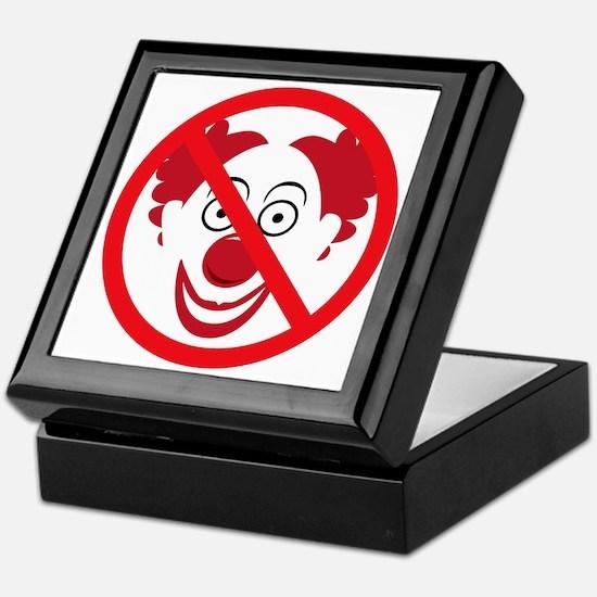 NoClowns Keepsake Box