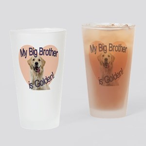 golden bro Drinking Glass
