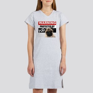 pro pug Women's Nightshirt