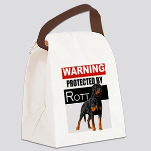 pro rott Canvas Lunch Bag