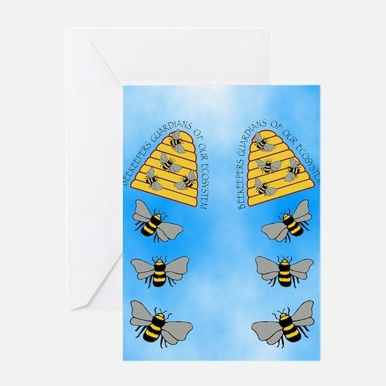 beekeepers fflop Greeting Card