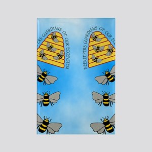 beekeepers fflop Rectangle Magnet