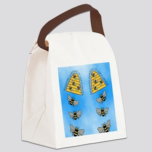 beekeepers fflop Canvas Lunch Bag