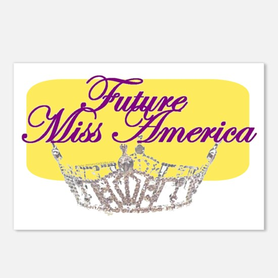 Future Miss America.gif Postcards (Package of 8)
