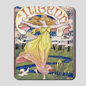 JUGEND DECEMBER 1898 EDIT Mousepad