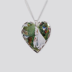 KeychainSq Necklace Heart Charm