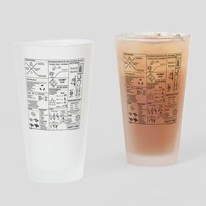CERT Bandana rev1d Drinking Glass