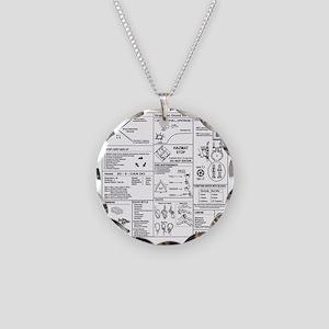 CERT Bandana rev1d Necklace Circle Charm
