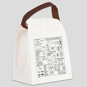 CERT Bandana rev1d Canvas Lunch Bag