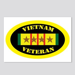 vietnam-oval-4 Postcards (Package of 8)