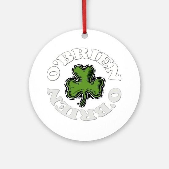 OBRIEN-001dark Round Ornament