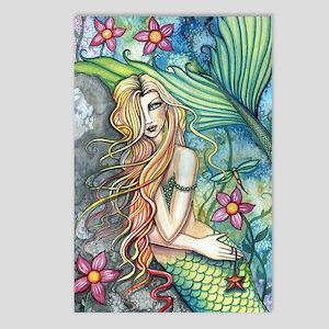 Fresh Water Mermaid cp Postcards (Package of 8)