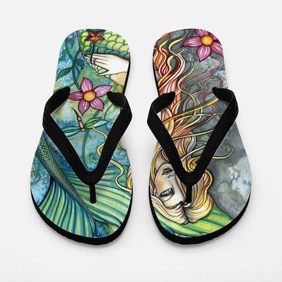 Fresh Water Mermaid cp Flip Flops