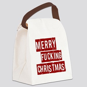 christmas10 Canvas Lunch Bag