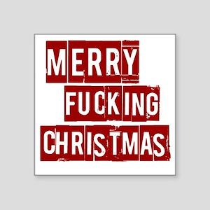 """christmas10 Square Sticker 3"""" x 3"""""""