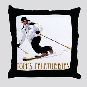 TeletubbieTshirt Throw Pillow