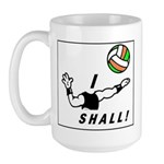 I shall! Large Mug