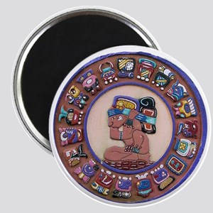 Mayan Calendar Stone Magnet