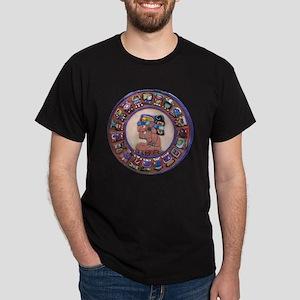 Mayan Calendar Stone Dark T-Shirt