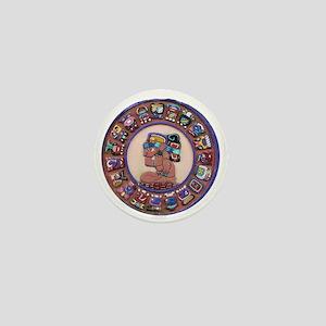 Mayan Calendar Stone Mini Button