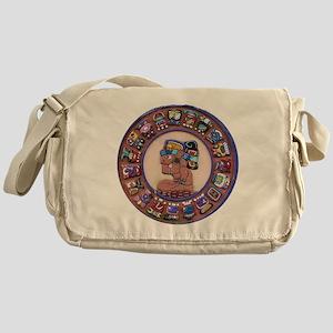 Mayan Calendar Stone Messenger Bag