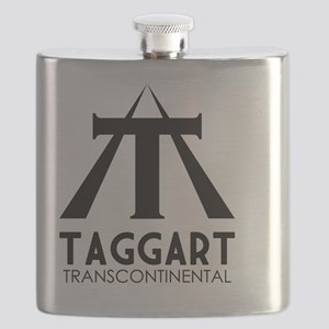 Taggart Transcontinental Black Flask
