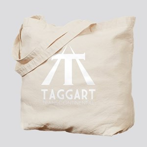Taggart Transcontinental White Tote Bag