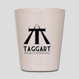 Taggart Transcontinental Black Shot Glass