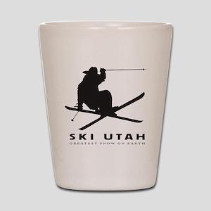 Ski Utah Shot Glass