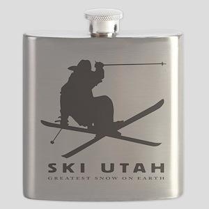 Ski Utah Flask