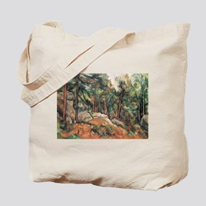 In the Forest - Paul Cezanne - c1898 Tote Bag