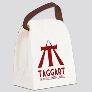 Taggart Transcontinental Red Canvas Lunch Bag