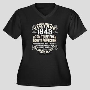 PREMIUM VINTAGE 1943 Plus Size T-Shirt