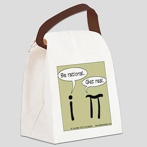pi vs i Canvas Lunch Bag