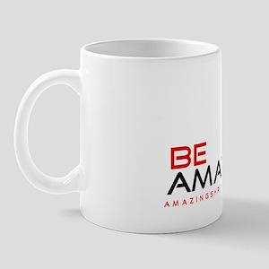 be amazing coffee black red Mug