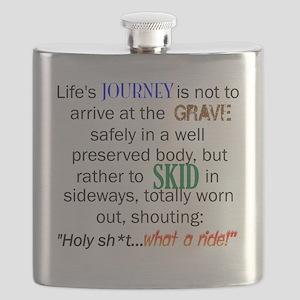 Lifes Journey Flask