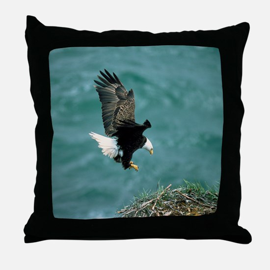 eagle_nest_cafe Throw Pillow