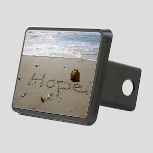 Hope by Beachwrite Rectangular Hitch Cover