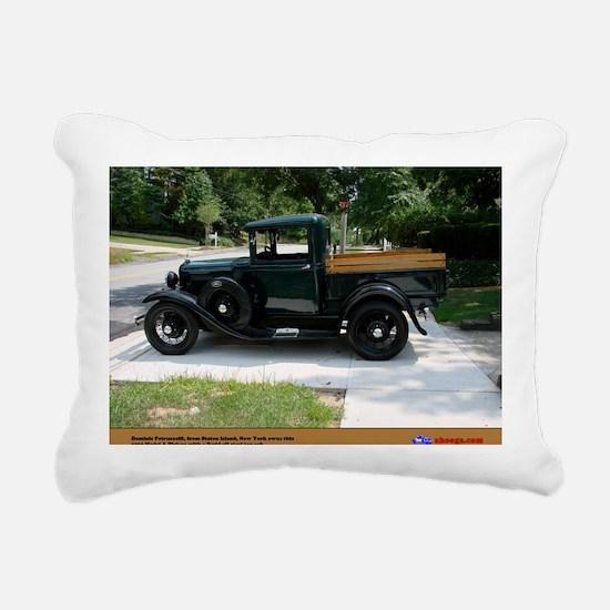 1-1 Rectangular Canvas Pillow