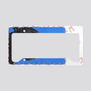 buster-holiday License Plate Holder