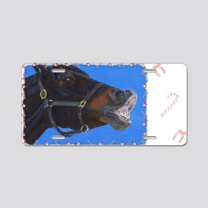 buster-holiday Aluminum License Plate