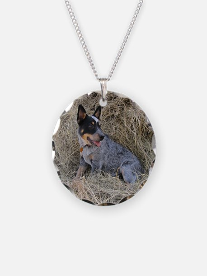 Australian Blue Heeler Pup Necklace