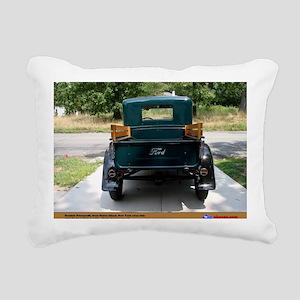 3-4 Rectangular Canvas Pillow