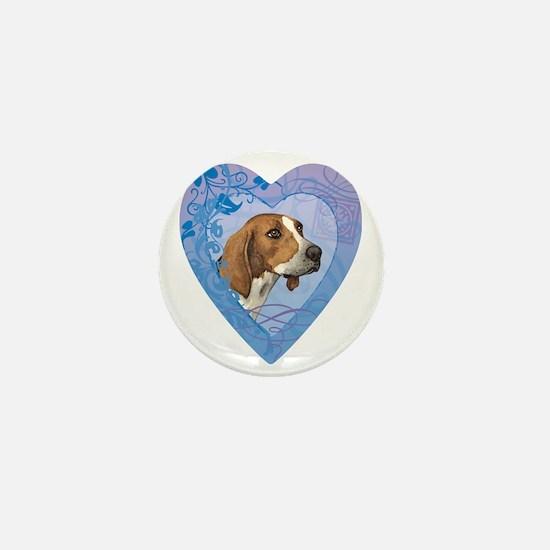 TreeWalker-heart Mini Button